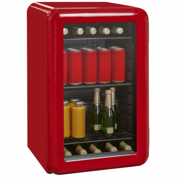 Exquisit RKB 60-14 A+Grot retro mini chladnička