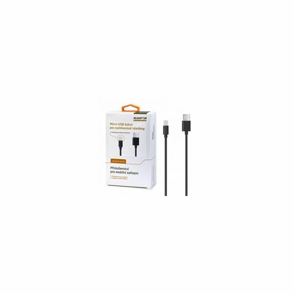 Aligator datový a nabíjecí kabel R5/R10/R20/RX450/RX430/RX400, USB - BULK