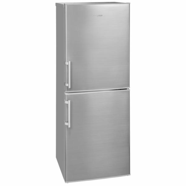 Exquisit KGC 233/60-4.3 Inoxlook kombinovaná chladnička nerez