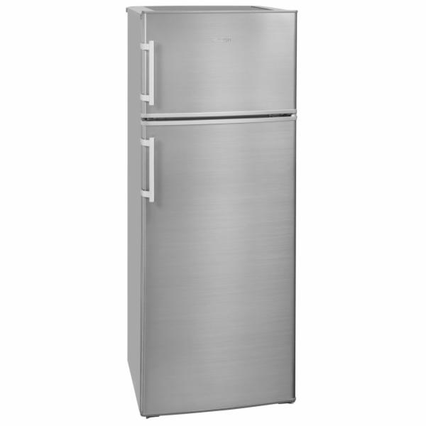Exquisit KGC 270/45-4.4 A++ Inoxlook kombinovaná chladnička nerez