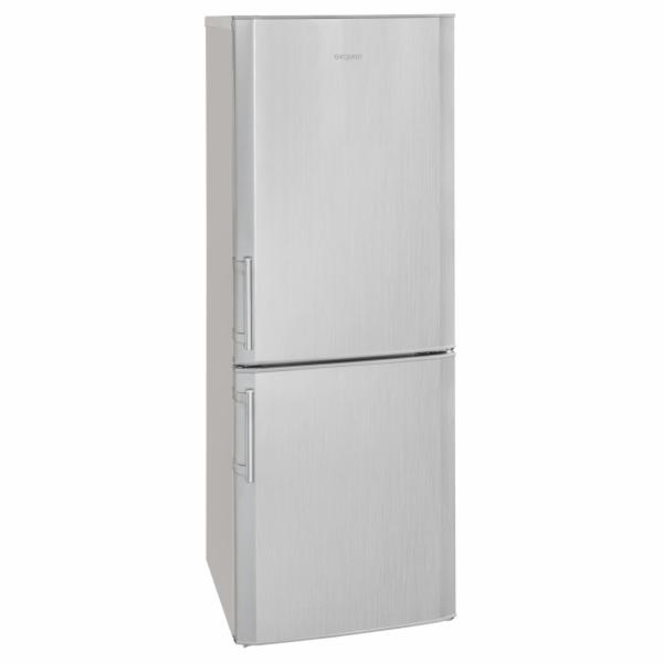 Exquisit KGC 270/70-4.2 A++ si kombinovaná chladnička stříbrná