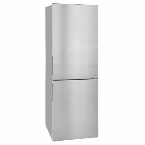 Exquisit KGC 320/90-4 A+++ Inoxlook kombinovaná chladnička nerez