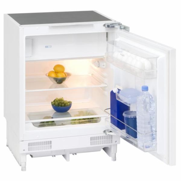 Exquisit UKS 130-1.2 A+ podpultová kombinovaná chladnička