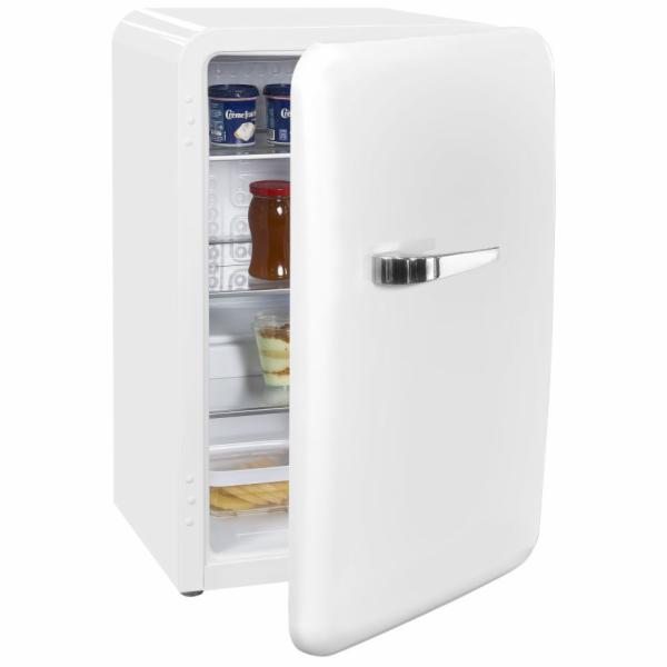 Exquisit RKB 60-14 A++ retro mini chladnička