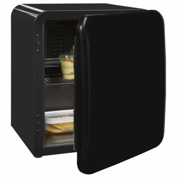 Exquisit RKB 05-14 A+sw retro mini chladnička