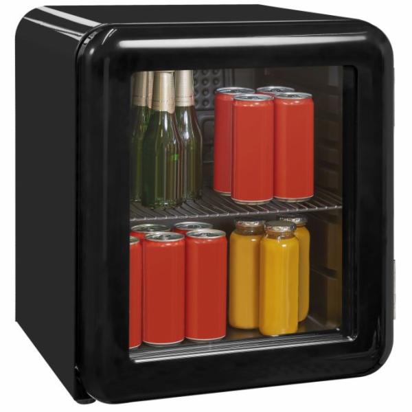 Exquisit RKB 05-14 A+Gsw retro mini chladnička