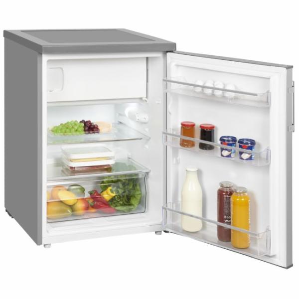 Exquisit KS 18-17 A++ Inoxlook kombinovaná chladnička
