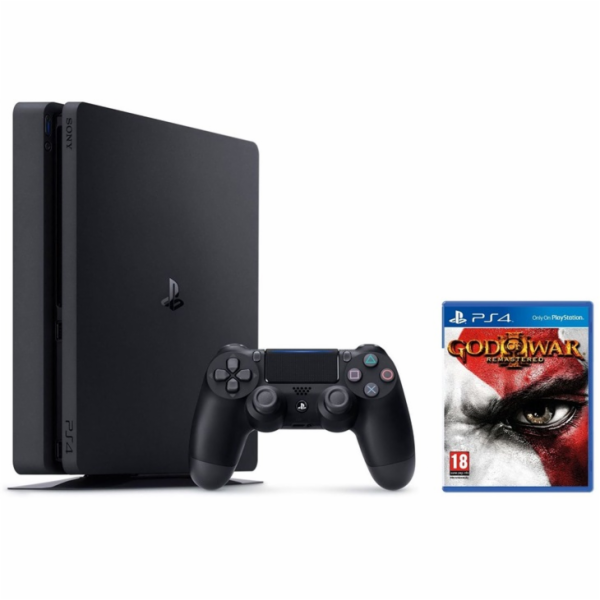 SONY PlayStation 4 Slim - 500GB + GOW
