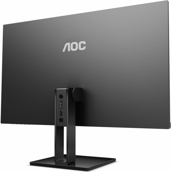 "AOC MT IPS LCD WLED 27"" 27V2Q- IPS panel, 1920x1080, 250cd/m, 5ms, HDMI, DP, bezrameckovy design"