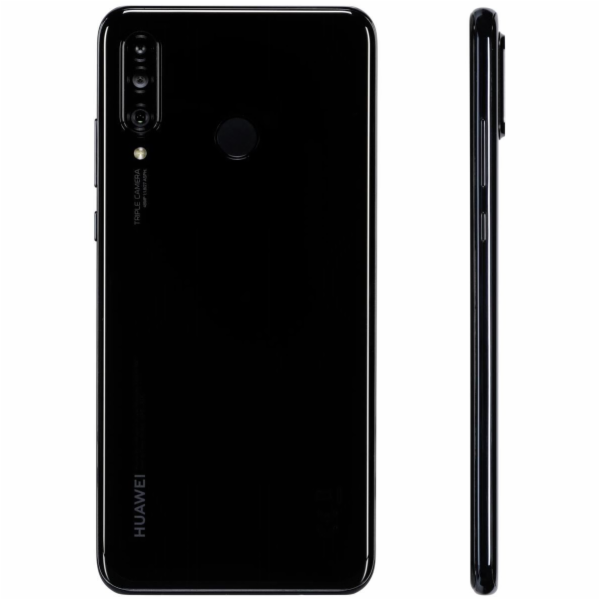 Huawei P30 lite midnight cerna