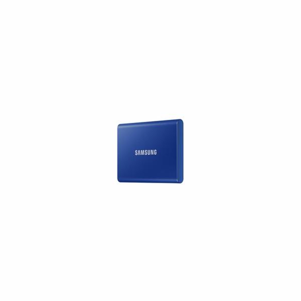Samsung Externí SSD disk - 500 GB - modrý