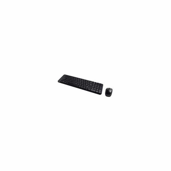 BAZAR - Logitech Wireless Desktop MK220, CZ/SK