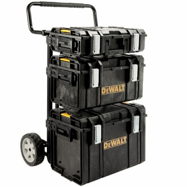 Tough systém DeWalt 1-70-349 (Vozík s držáky + Kufr DS150 + Kufr DS300 + Kufr DS400)