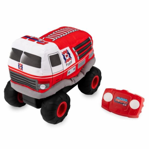 Spin Master PRE COOL plyšové RC hasičské auto na dálkové ovládání