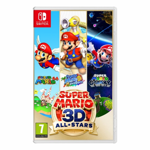 HRA SWITCH Super Mario 3D All Stars