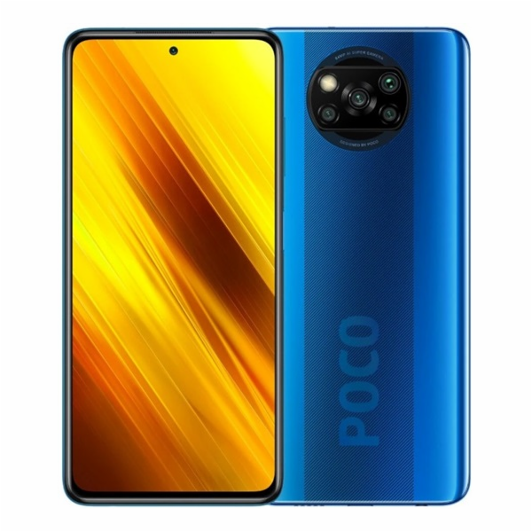 Xiaomi POCO X3 NFC modrá FullHD+/2GHz OC/6GB/128GB/2xSIM/SD/64+13+2M+2MPx/5160mAh