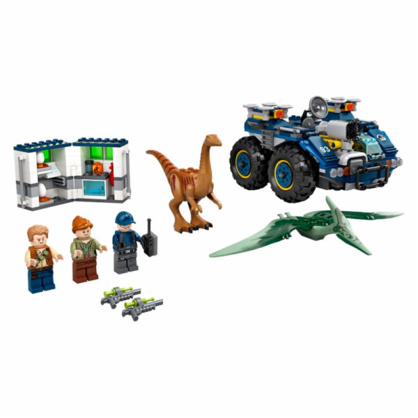 75940 Jurassic World Ausbruch von Gallimimus und Pteranodon, Konstruktionsspielzeug