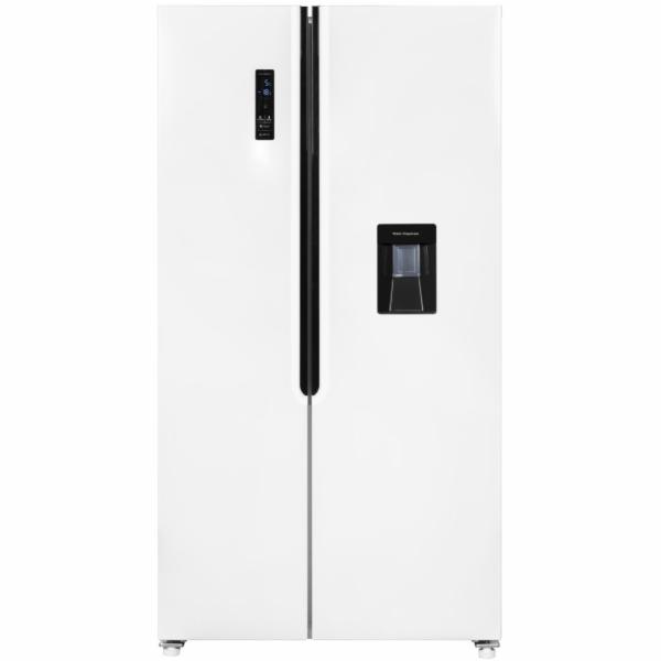 Exquisit SBS 160-4 XWTA++ americká chladnička