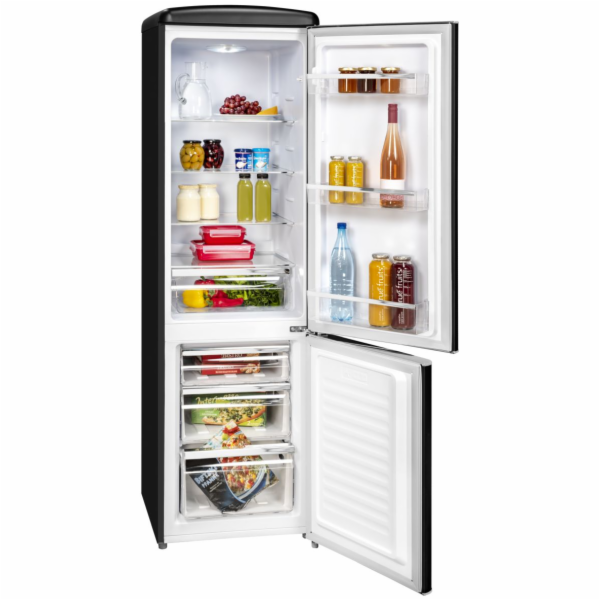 Exquisit RKGC 250/70-16 A++ MS retro kombinovaná chladnička