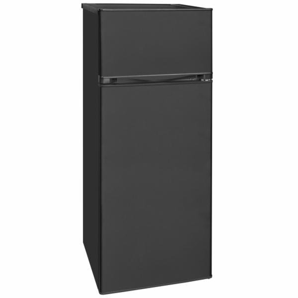 Exquisit KGC 270/45-9 A++ MS kombinovaná chladnička matná černá