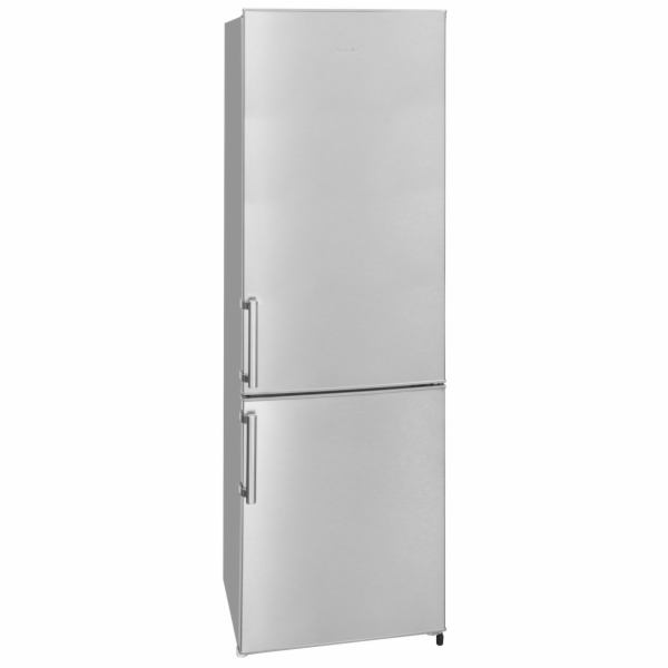 Exquisit KGC 265/70-1 A+++Inoxlook kombinovaná chladnička nerez