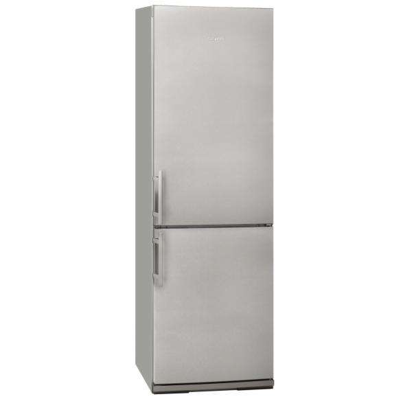 Exquisit KGC 34.2 A+++STG Inoxlook kombinovaná chladnička nerez