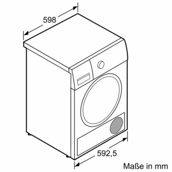 WT43N202 iQ300, Kondensationstrockner