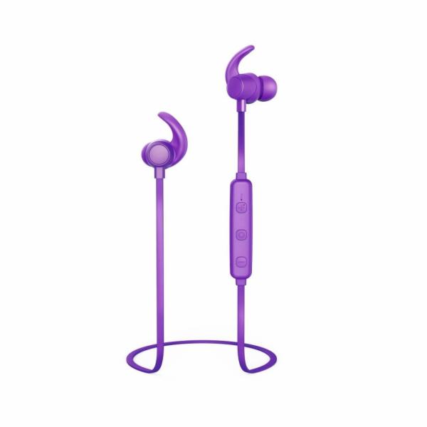 Thomson WEAR7208PU bezdrátová sluchátka fialová