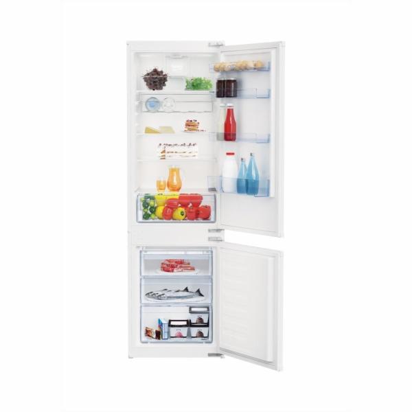 Beko BCSA285K2SF vestavná kombinovaná chladnička