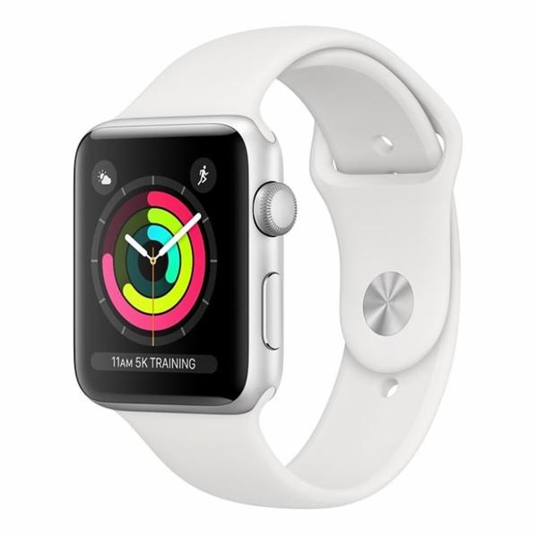 Hodinky Apple Watch Series 3, 38mm, Stříbrné