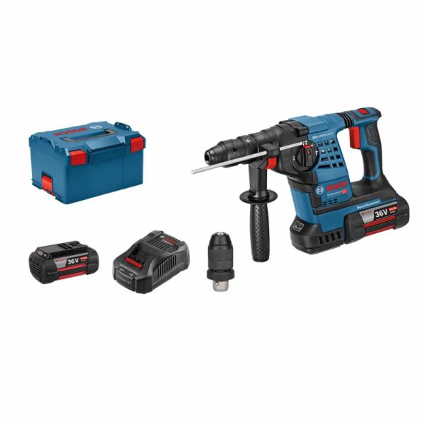 Bosch Professional GBH 36 VF-LI Plus + 2x 6,0 Ah +