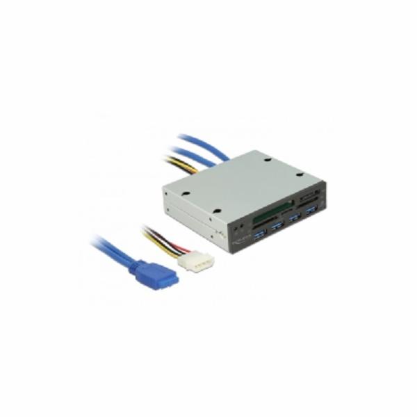 USB 3.0 Card Reader 5 Slot + 4 Port USB 3.0 Hub, Kartenleser