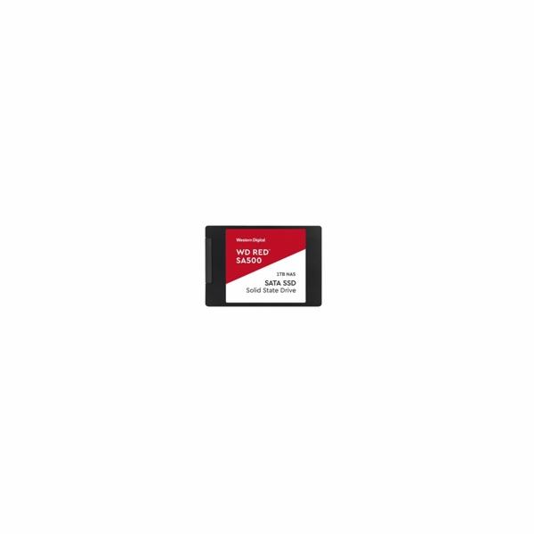 WDC WDS100T1R0A WD Red SA500 NAS SSD 2.5 1TB SATA/600, 560/530 MB/s, 7mm, 3D NAND