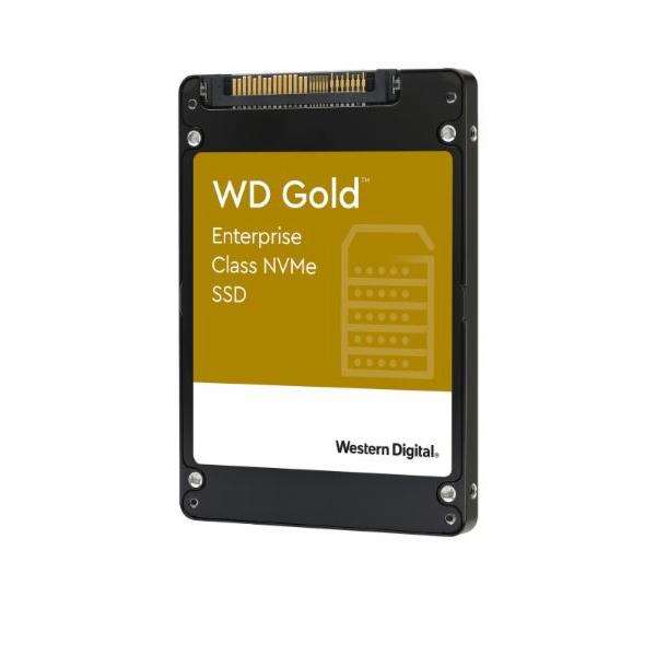 "WD GOLD SSD WDS192T1D0D 1,92TB NVMe (R:3100,W:2000 MB/s), U.2. 2.5"""