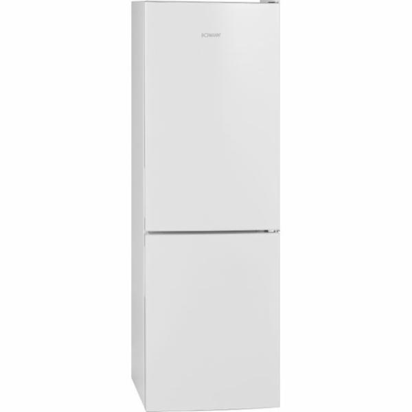 Bomann KG 322.1, kombinace lednice s mrazákem, bílá