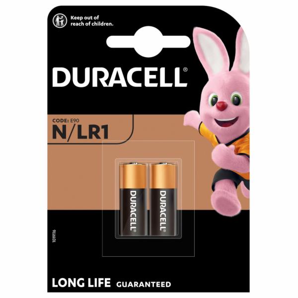 DURACELL baterie alkalická spec. N/LR1/MN9100 2 kusy