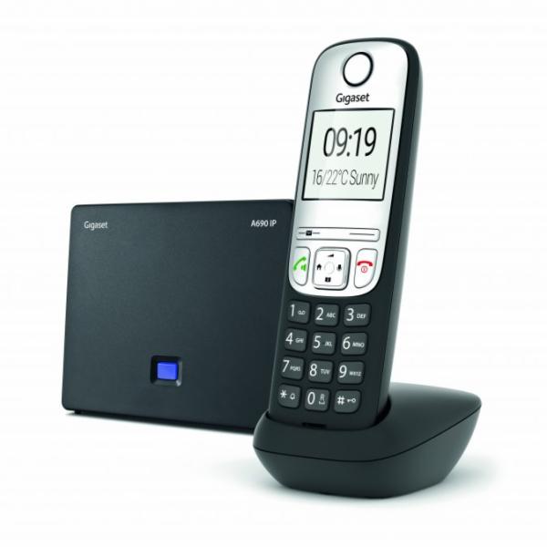 SIEMENS Gigaset A690 IP Black