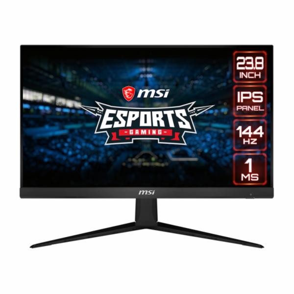 "MSI Gaming monitor Optix G241, 24""/1920 x 1080 FHD/IPS, 144Hz/1ms/1000:1/250cd / m2 /2x HDMI/DP"