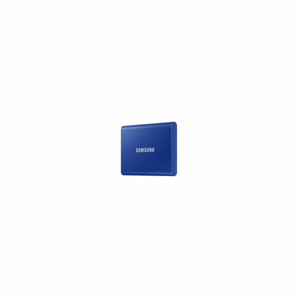 Samsung Externí SSD disk - 2TB - modrý