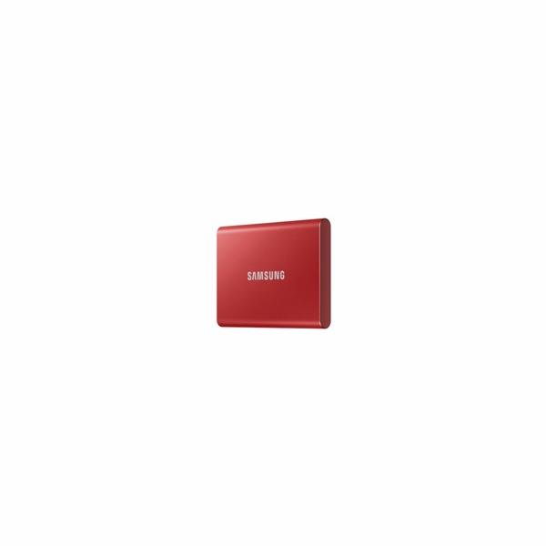 Samsung Externí SSD disk - 1TB - červený