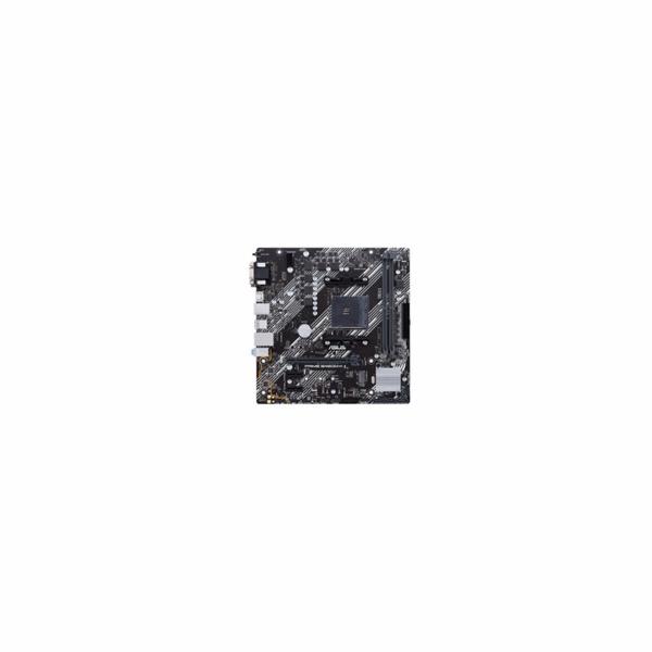ASUS MB Sc AM4 PRIME B450M-K II, AMD B450, 2xDDR4, 1xHDMI, 1xDVI, 1xVGA, mATX