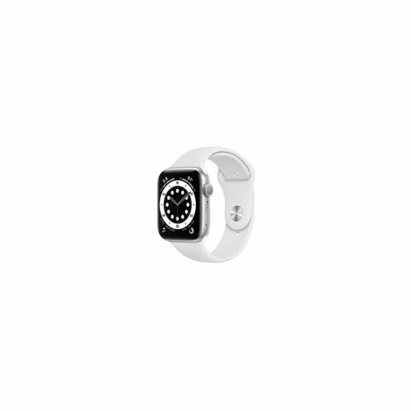 Apple Watch S6 40mm Silver/White SportB
