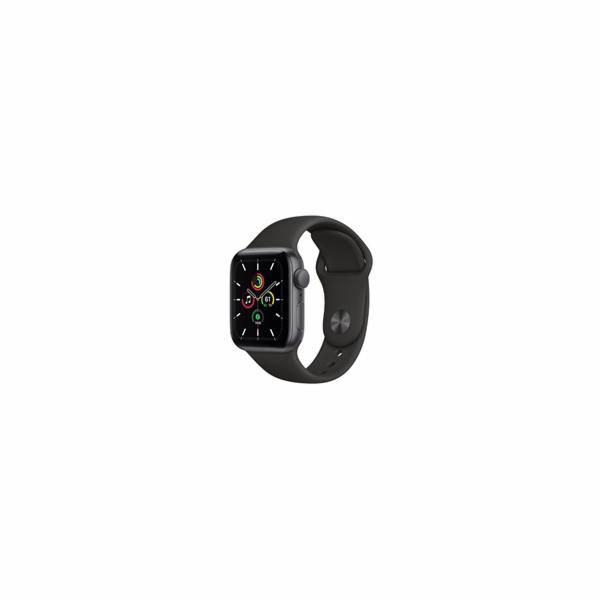 Hodinky Apple Watch SE, 40 mm, vesmírně šedý hliník