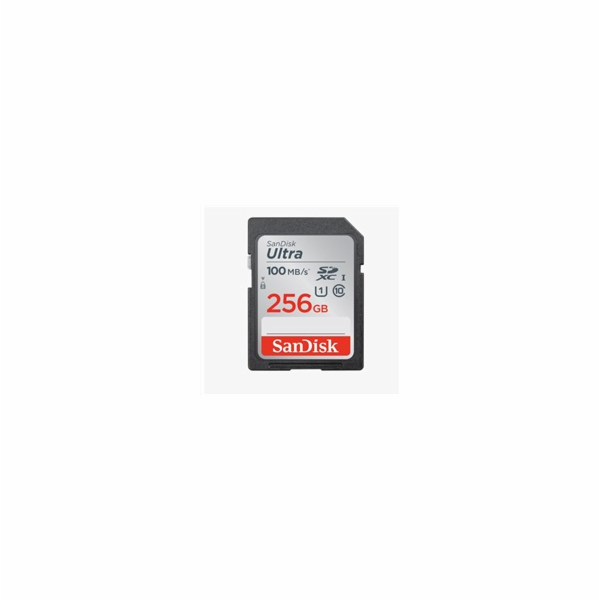 SanDisk Ultra Lite SDXC 256GB 100MB/s SDSDUNR-256G-GN3IN