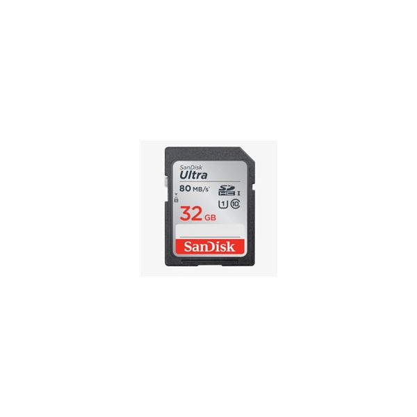 SanDisk SDHC karta 32GB Ultra (100MB/s Class 10 UHS-I)