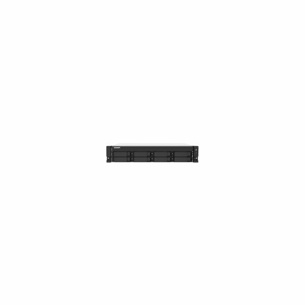 QNAP TS-873AU-RP-4G (Ryzen V1500B 2,2GHz / 4GB RAM / 8x SATA / 2x 2,5GbE / 2x PCIe / 2x zdroj)