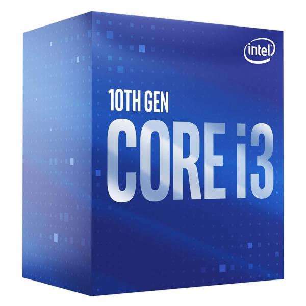 CPU Intel Core i3-10100F BOX (3.6GHz, LGA1200)