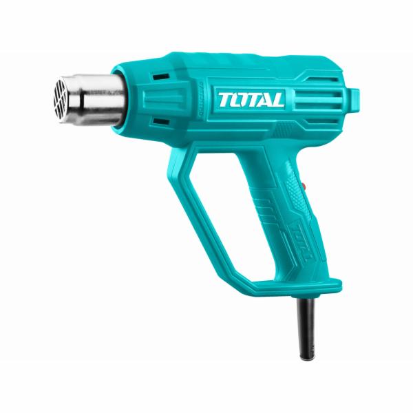 Pistole horkovzdušná, 2000W TOTAL-TOOLS
