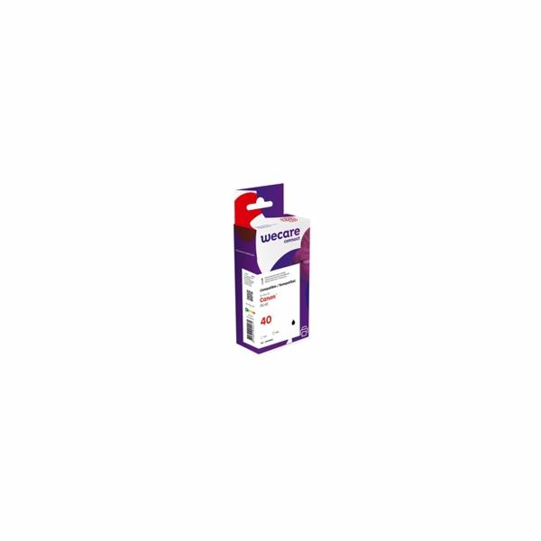 WECARE ARMOR cartridge pro CANON Pixma iP1600/2200, Mp 140/460 (PG-40) černá, 16 ml, 580 str