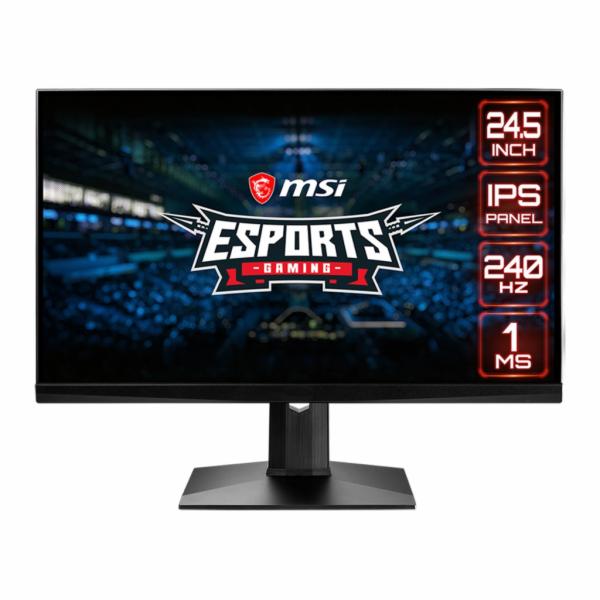 "MSI Gaming monitor Optix MAG251RX, 24,5""/1920 x 1080 FHD/IPS, 240Hz/1ms/1000:1/400cd / m2 /2x HDMI/DP/USB"